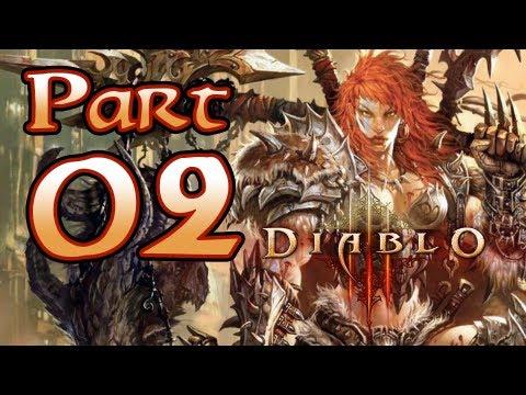 Diablo 3 III Gameplay – Barbarian Class Pt 2