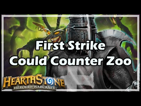 [Hearthstone] First Strike Could Counter Zoo