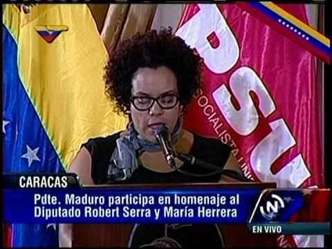 Confieren Orden Libertadores de Venezuela post morten a Robert Serra