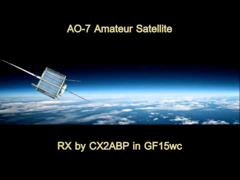 AO-7 Amateur Satellite - Telemetry beacons received in GF15wc - May 3, 2012 at 0810 UTC