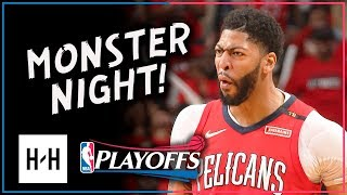 Anthony Davis AMAZING Full Game 4 Highlights vs Trail Blazers 2018 Playoffs - 47 Pts, 12 Reb, EPIC!