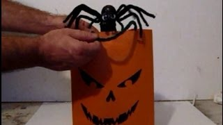 Make A Magic Popping Trick Or Treat Bag