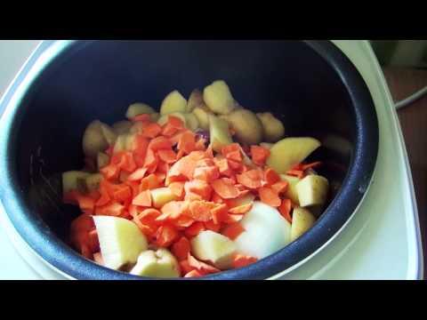 Как приготовить суп в мультиварке - видео