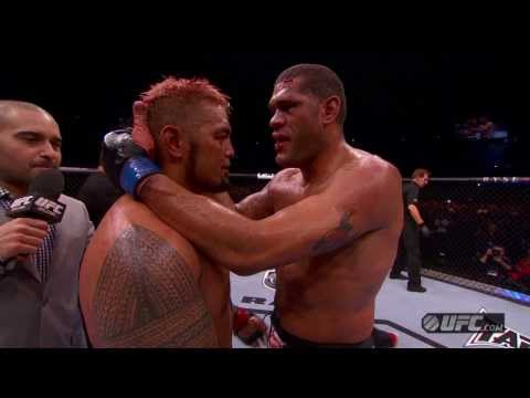 UFC Brisbane Hunt and Bigfoot PostFight Interviews