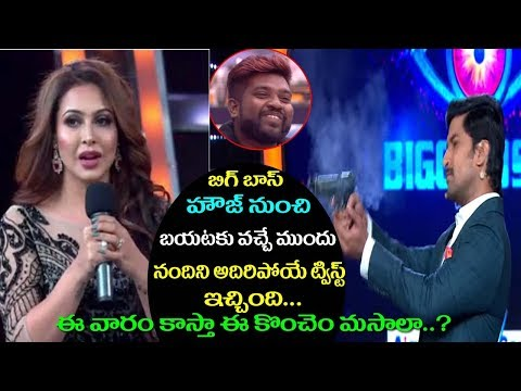 Bigg Boss 2 Telugu Highlights | Nandini ELIMINATED From Bigg Boss 2 Telugu | Film Jalsa