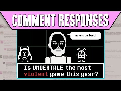 Comment Responses: Is Undertale The Most Violent Game This Year?   PBS Digital Studios