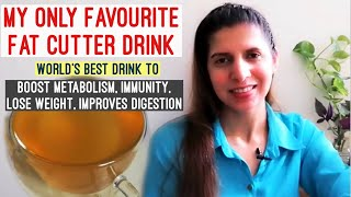 My Absolute Favorite Fat Loss Drink | Boost Metabolism, Digestion with World's Best Weight Loss Tea