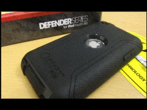 OtterBox Defender Series For The iPod Touch 4G Unboxing/Review