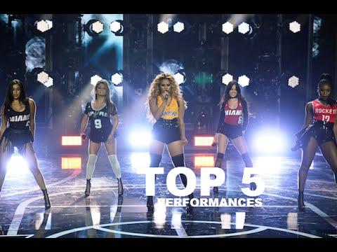 TOP 5: Fifth Harmony performances