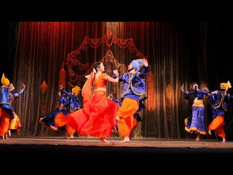 Dhinka Chika, Indian Dance Group Mayuri (petrozavodsk, Russia) video