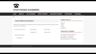 Scammer Resource Center | Website Update | Live Stream Update