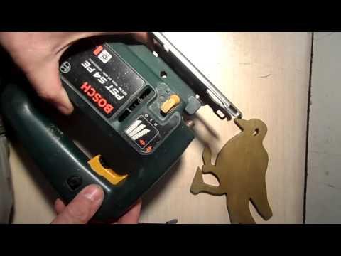 Обзор пилки Bosch для фигурного реза лобзиком