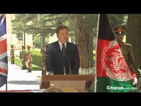 David Cameron: 'The vital work done in Afghanistan comes at