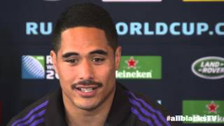 Full media All Blacks conference with Aaron Smith, Nehe Milner-Skudder and Ian Foster | Rugby Video