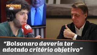 """Caio: """"Bolsonaro deveria ter adotado critério objetivo para afastar aliados sob denúncia"""""""