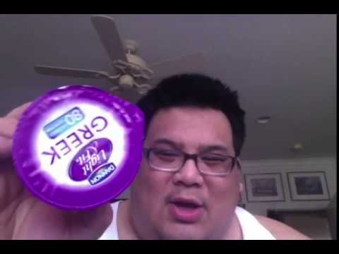 Dannon Light & Fit Nonfat Greek Yogurt. Cherry_ Review