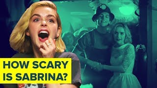 Sabrina's Kiernan Shipka Reveals That Ross Lynch Scares Easily