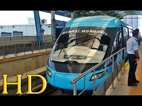 MUMBAI MONORAIL: A compilation of complete journey from Bhakti Park to Chembur Station