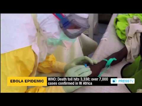 Ebola Death Toll Hits 3,338 People