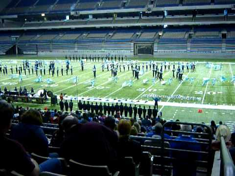Anderson High School Marching Band 2010 State competition performance