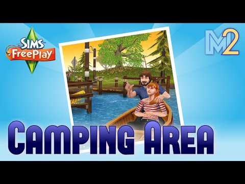 Sims FreePlay - Camping Area (Review & Walkthrough)