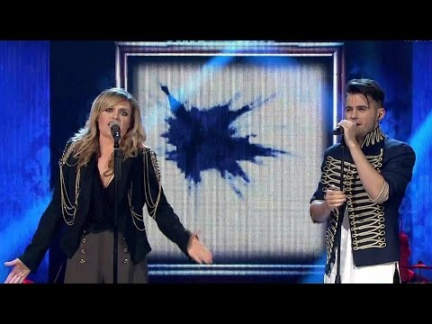 "The Voice of Poland VI – Julia i Jędrek Skibowie – ""Janie's Got a Gun"" –  Live"