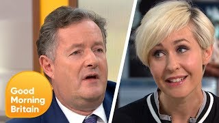 Piers Gets in a Furious Debate on Whether or Not Men Can Be Mothers | Good Morning Britain
