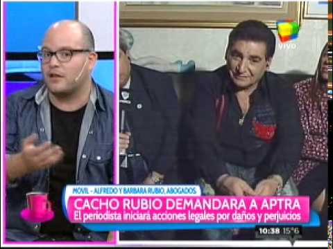 Cacho Rubio demanda a APTRA