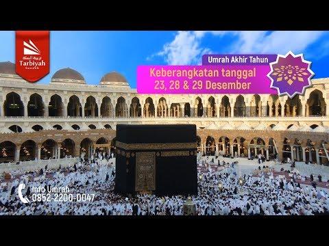 Promo Umrah Akhir Tahun : Yayasan Tarbiyah Sunnah x Nasratul Ummah 2018