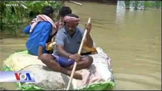 Ấn Độ: Lũ lụt tàn phá, gây thương vong (VOA)