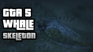 GTA 5: How To Find The Sea Monster (aka Whale Skeleton)
