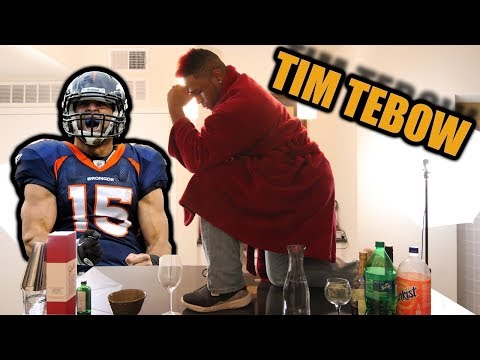 What if Tim Tebow was a Drink? Celebrity Drinks @TimTebow