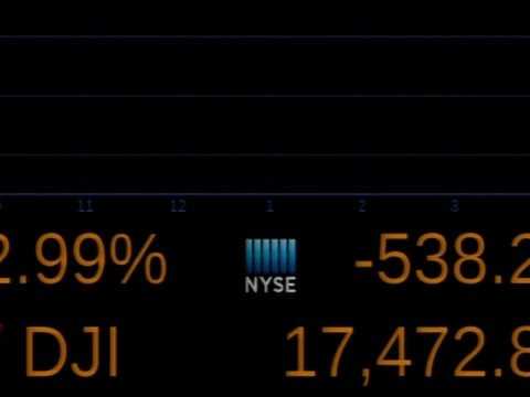 Stocks Open Sharply Lower After Brexit Vote