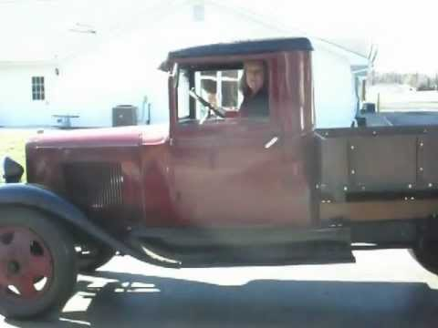 Gmc Truck For Sale >> 1932 Chevrolet 1 ton truck / cruisin' in video after sitting for years - YouTube