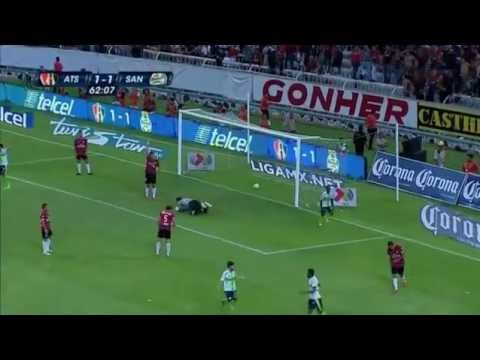 Atlas 1 - 3 Santos (LIGA MX) Cuartos de Final vuelta... Clausura 2013