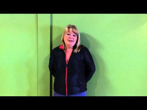 Shelley Elhatton, RN gives testimonial, Block Therapy 3 day Intensive workout.