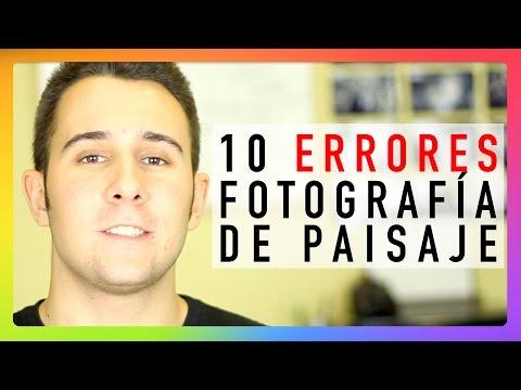 10 ERRORES: Fotografía de paisaje
