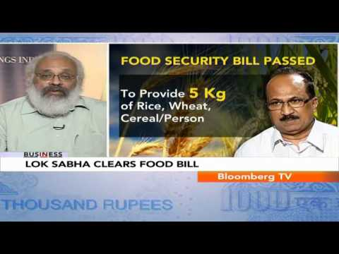In Business - Can India Afford The Food Security Bill?