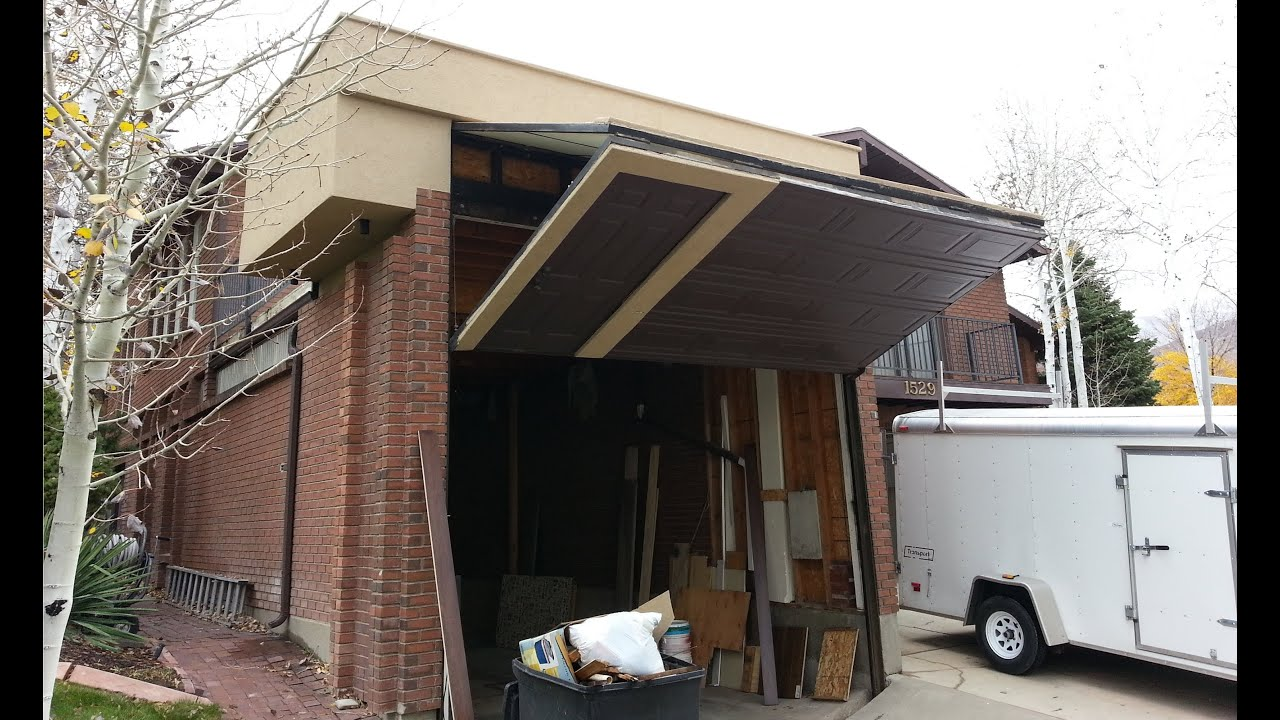 Worlds coolest garage door homemade for rv youtube for Rv garage door sizes