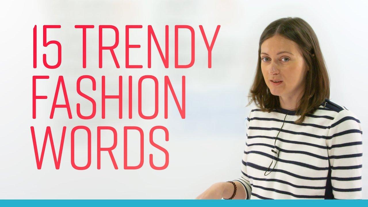 Trend words 2016