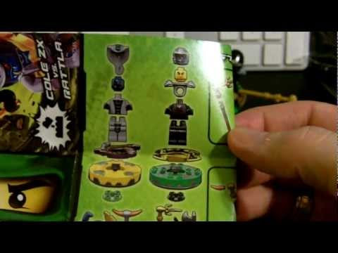 Lego Ninjago 9579 Starter Set Cole ZX and Rattla Unboxing and Review