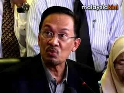Anwar Ibrahim was stripped naked and private parts examined