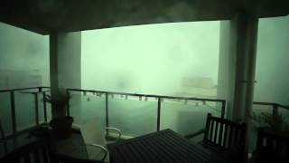 Superstorm Cell in Brisbane (17.11.2012)