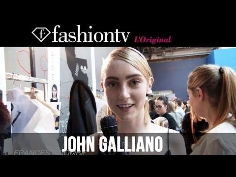 John Galliano Fall winter 2014-15 Backstage | Paris Fashion Week Pfw | Fashiontv video