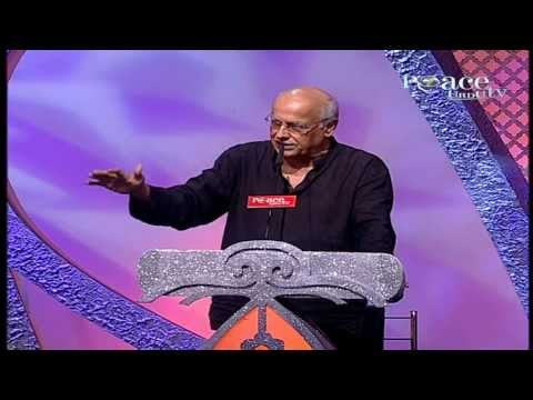 Mahesh Bhatt Answering  Peace Conference Mumbai