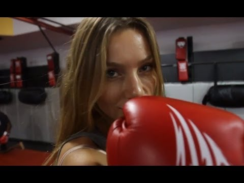 Model's MMA Boxing Drill Image 1