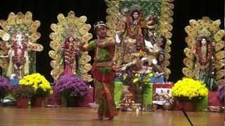 Meghai Dance at Durge Puja ' 2012
