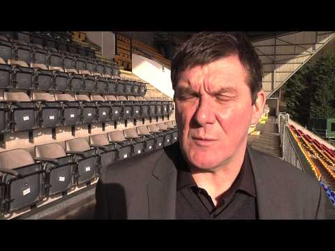 Tommy Wright raises money for Cancer Research UK