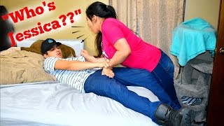 CALLING GIRLFRIEND ANOTHER GIRLS NAME PRANK!!!