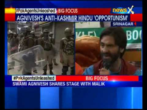 Yasin Malik, Agnivesh detained at protest march